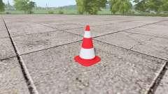 Дорожный конус для Farming Simulator 2017