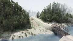 Clearwater River для MudRunner