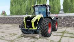 Claas Xerion 5000 Trac VC double wheels для Farming Simulator 2017