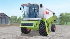Claas Lexion 480 working mirrors для Farming Simulator 2017