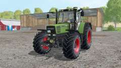 Fendt Favorit 515C Continental tyres для Farming Simulator 2015
