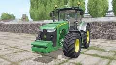 John Deere 8320R with weights для Farming Simulator 2017