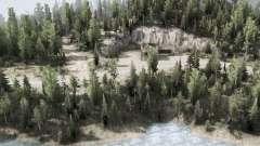 Kootenay Mountains для MudRunner