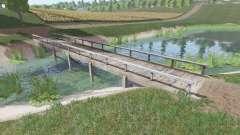 Деревянный мост для Farming Simulator 2017