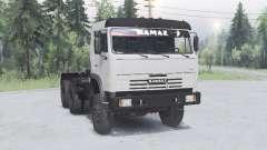 КамАЗ 54115 6x6 для Spin Tires