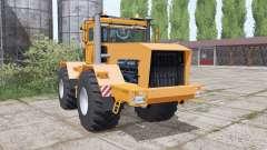 Кировец К-701 нежно-оранжевый для Farming Simulator 2017