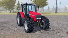 Massey Ferguson 6290 animation doors для Farming Simulator 2013