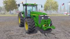 John Deere 8400 animation parts для Farming Simulator 2013