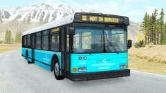Wentward DT40L Turkish Municipal Bus skin v1.2 для BeamNG Drive