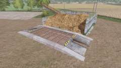 Хранилище навоза v1.0.2 для Farming Simulator 2017