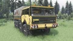 Tatra T813 TP 8x8 1967 v1.4 для Spin Tires