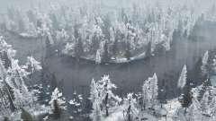 Winter Bog для MudRunner