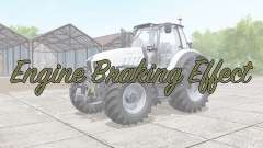 Engine Braking Effect v2.0 для Farming Simulator 2017