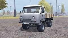 УАЗ 33036 с прицепом для Farming Simulator 2013