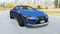 Lexus LC 500 2017 для BeamNG Drive