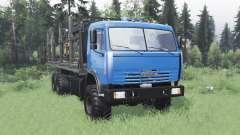КамАЗ 43118 длинная база v1.1 для Spin Tires