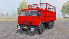 КамАЗ 55102 с прицепом для Farming Simulator 2013