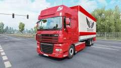 DAF XF105 Super Space Cab Tandem для Euro Truck Simulator 2