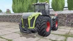 CLAAS Xerion 4000 Trac VC narrow twin wheels для Farming Simulator 2017