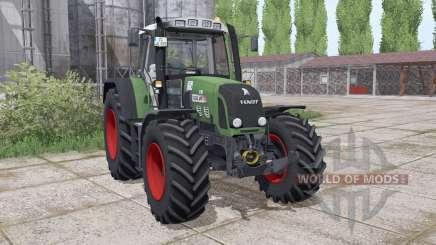 Fendt 820 Vario TMS lоader mounting для Farming Simulator 2017