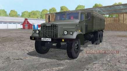 КрАЗ 257 6x6 для Farming Simulator 2015