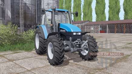 New Holland TS115 narrow wheels для Farming Simulator 2017