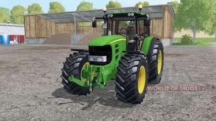 John Deere 7530 Premium аnimation parts для Farming Simulator 2015