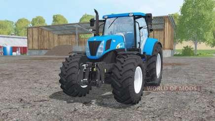 New Holland T7030 loader mounting для Farming Simulator 2015