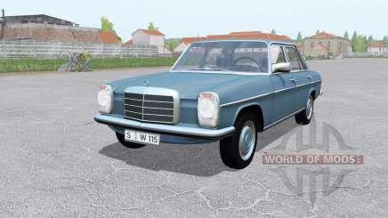 Mercedes-Benz 200D (W115) 1968 для Farming Simulator 2017