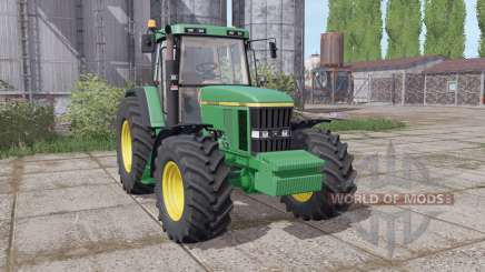 John Deere 7610 animation parts для Farming Simulator 2017