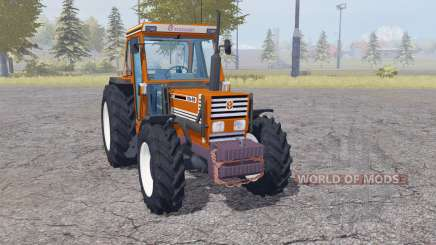 Fiatagri 110-90 DT front loader для Farming Simulator 2013