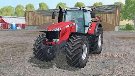 Massey Ferguson 8737 interactive control для Farming Simulator 2015