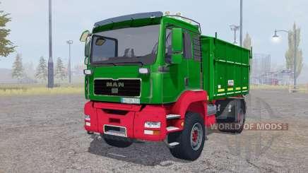MAN TGA tipper Agroliner для Farming Simulator 2013