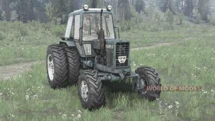 МТЗ 82.1 Беларус спаренные колёса для MudRunner