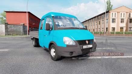 ГАЗ 330232 ГАЗель Бизнес для Euro Truck Simulator 2