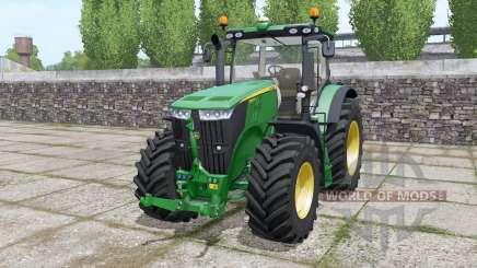 John Deere 7230R front loader для Farming Simulator 2017