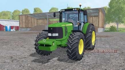 John Deere 7520 loader mounting для Farming Simulator 2015
