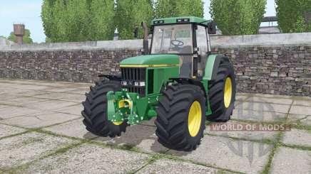 John Deere 7710 wide tyre для Farming Simulator 2017