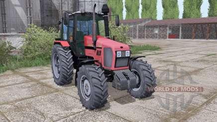 МТЗ 1221.2 Беларус мягко-красный для Farming Simulator 2017
