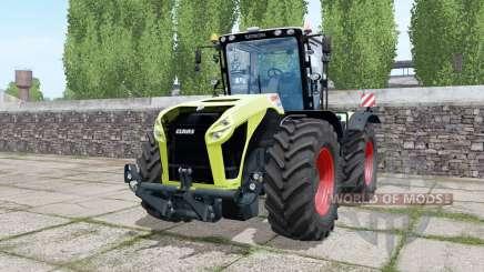 Claas Xerion 5000 Trac VC double wheels для Farming Simulator 2017