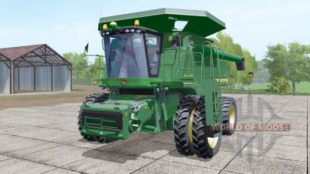 John Deere 9770 STS paired front wheels для Farming Simulator 2017