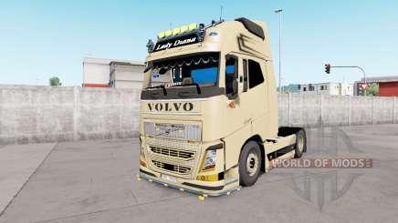 Volvo FH16 Globetrotter XL European Style v1.1 для Euro Truck Simulator 2