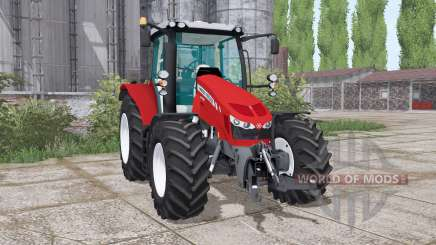 Massey Ferguson 5712 twin wheels для Farming Simulator 2017