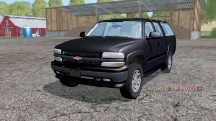 Chevrolet Suburban (GMT800) 2005 для Farming Simulator 2015