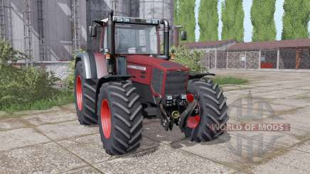 Fendt Favorit 816 Turboshift twin wheels для Farming Simulator 2017