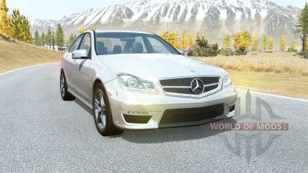 Mercedes-Benz C 63 AMG (W204) 2011 для BeamNG Drive