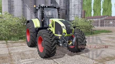 CLAAS Axion 940 interactive control для Farming Simulator 2017