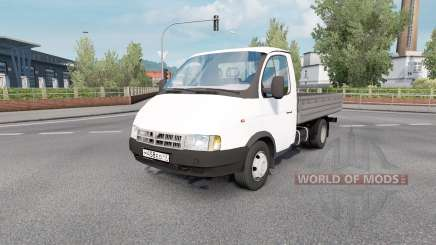 ГАЗ 3302 ГАЗель 2002 для Euro Truck Simulator 2