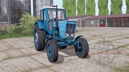 МТЗ 50 Беларусь умеренно-синий для Farming Simulator 2017