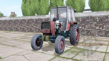ЮМЗ 6КЛ с выбором колёс для Farming Simulator 2017